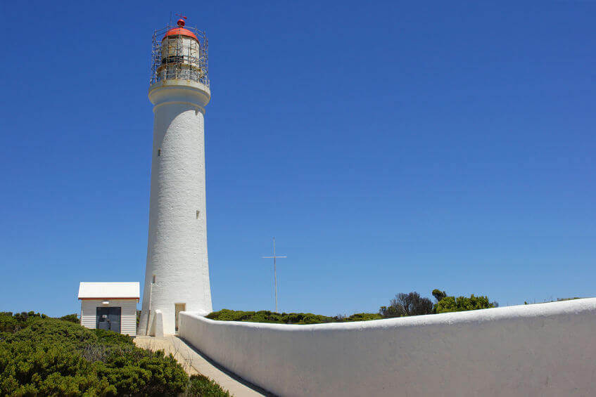 We'll be providing alarm maintenance to buildings like the Cape Nelson Lighthouse