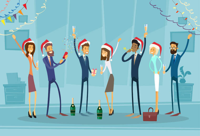 Work Christmas parties can give rise to different risks