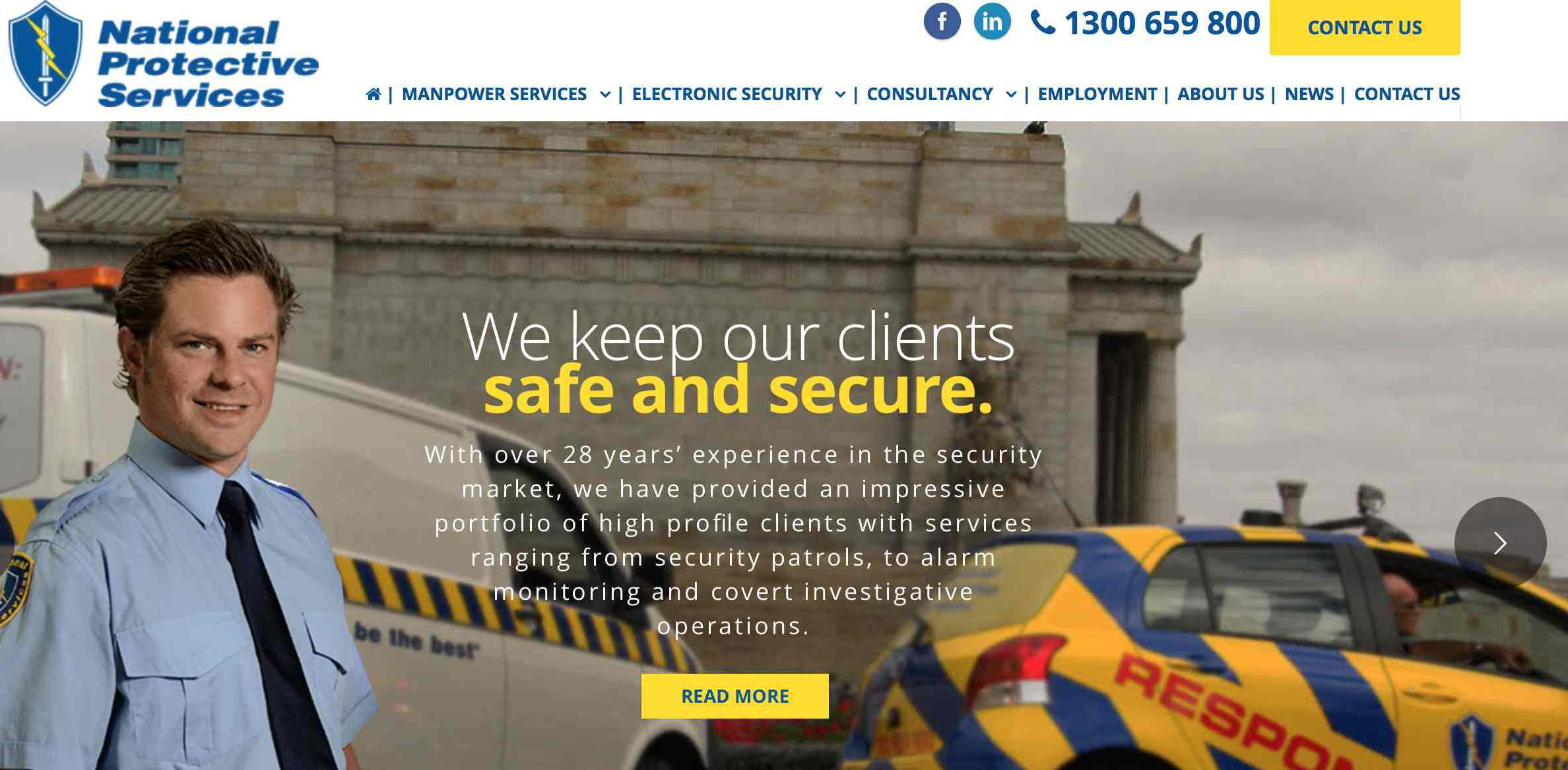 Full service security solutions