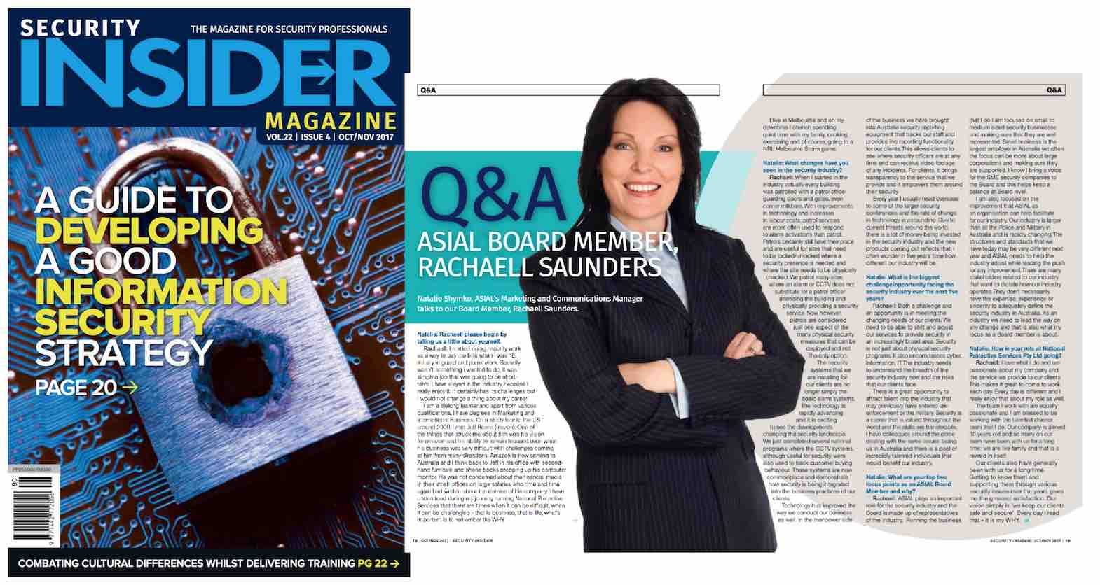 Rachaell Saunders went from security officer to CEO